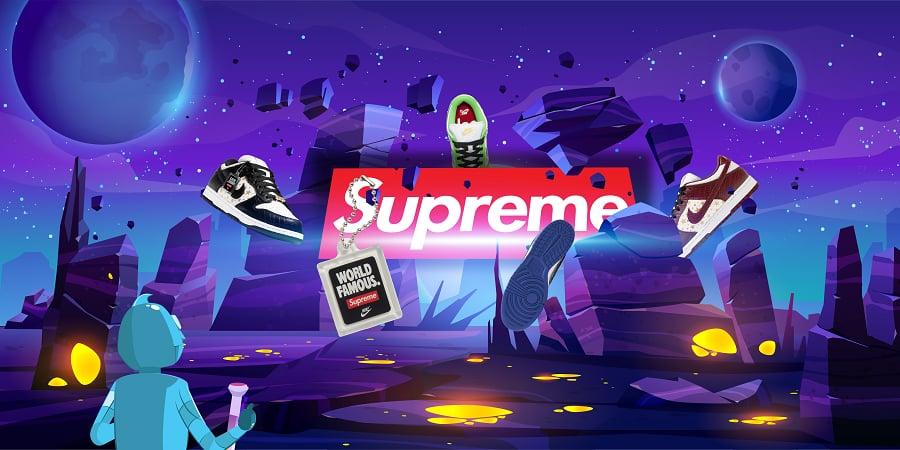 Supreme Dunk 2021 Star