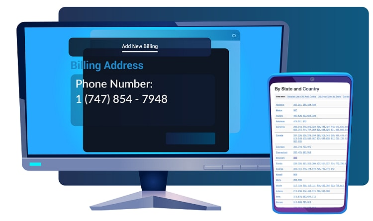 how to set phone number