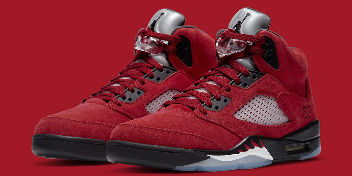 AJ5 - Red Sneakers - AIO Bot