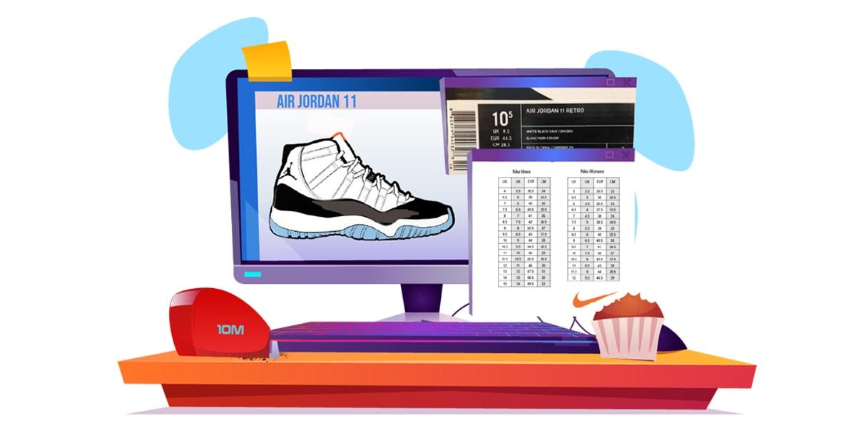 Jordan_Size Guide - AIO Bot Blog - AJ11