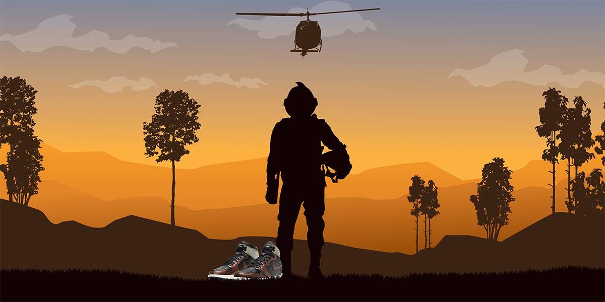 Brown Jordan 1 Patina - Army Light - AIO Bot