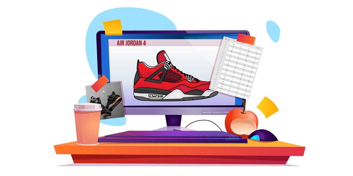 How do Jordans Fit - AIO Blog - Jordan Size 4