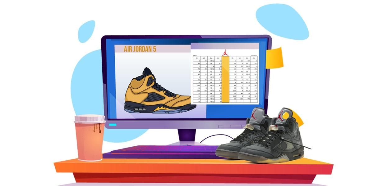 How do Jordans Fit - AIO Blog - Jordan Size 5