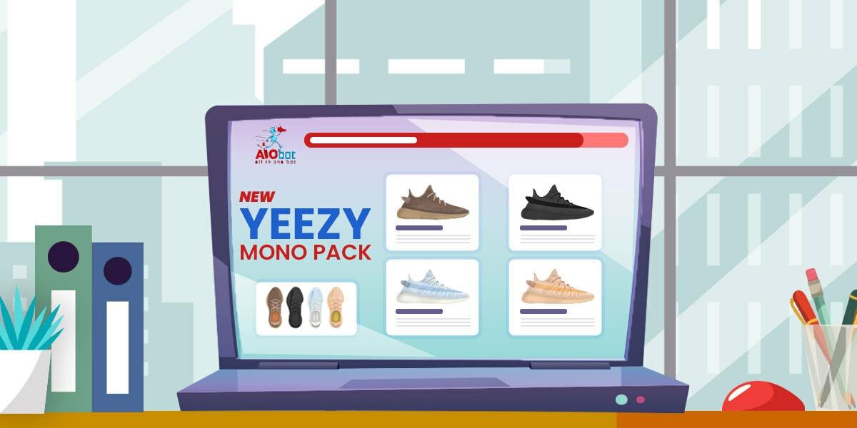 Yeezy 350 New Mono Pack - AIO Bot
