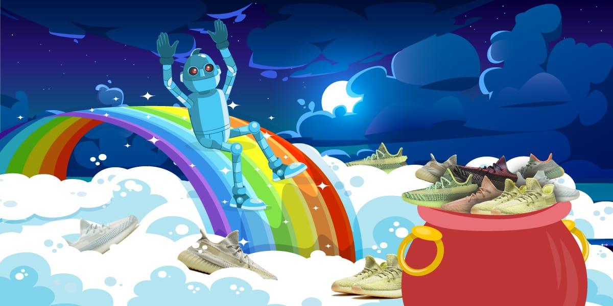 Weird Yeezy 350 Colorways - AIO Bot