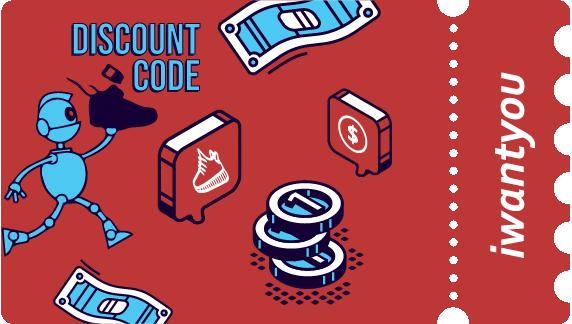 Discount Code iwantyou - AIO_Bot
