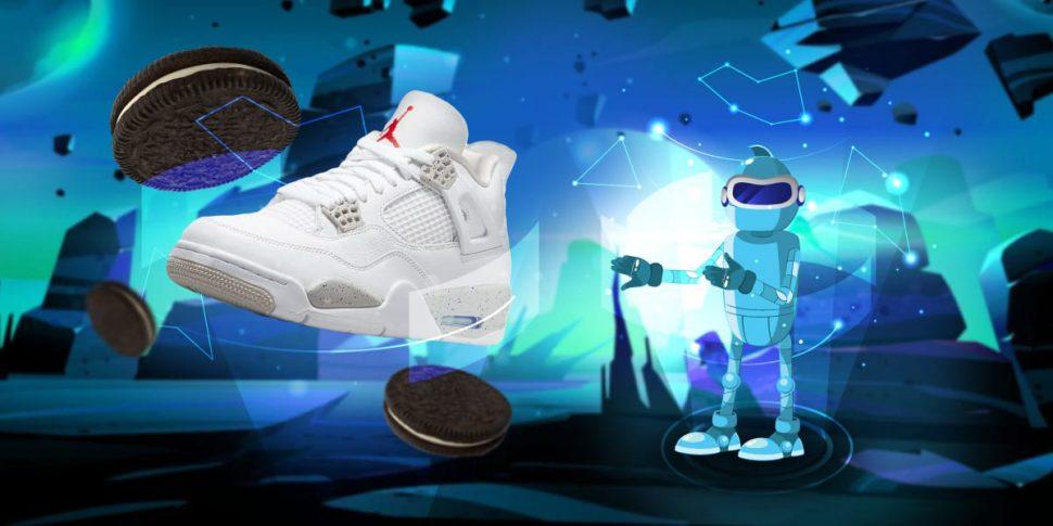 Jordan 4 White Oreo Tech Grey Release - AIO Bot