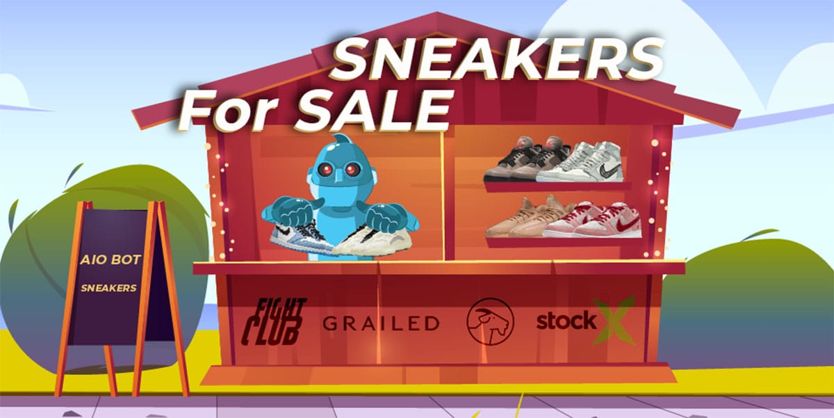 Where to Sell Sneakers - Sneaker Resellers - AIO Bot