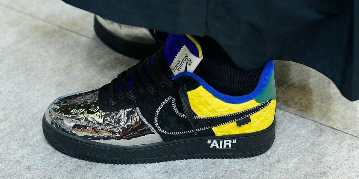 Nike Louis Vuitton Air Force 1 - Virgil Abloh - AIO Bot