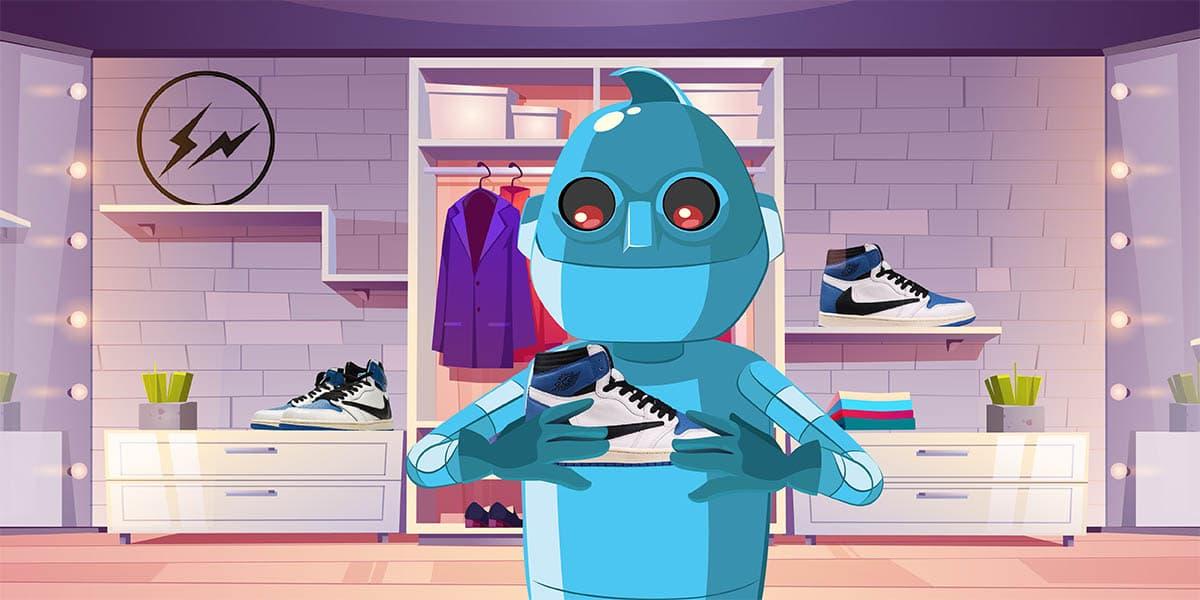Travis Scott Jordan 1 Fragment Sneaker Release - AIO Bot