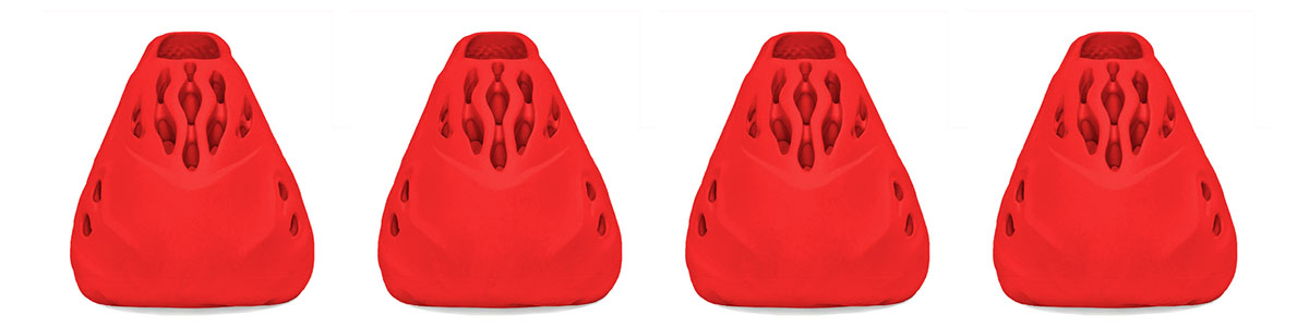 Vermilion Adidas YZY Release - Front View - AIO Bot