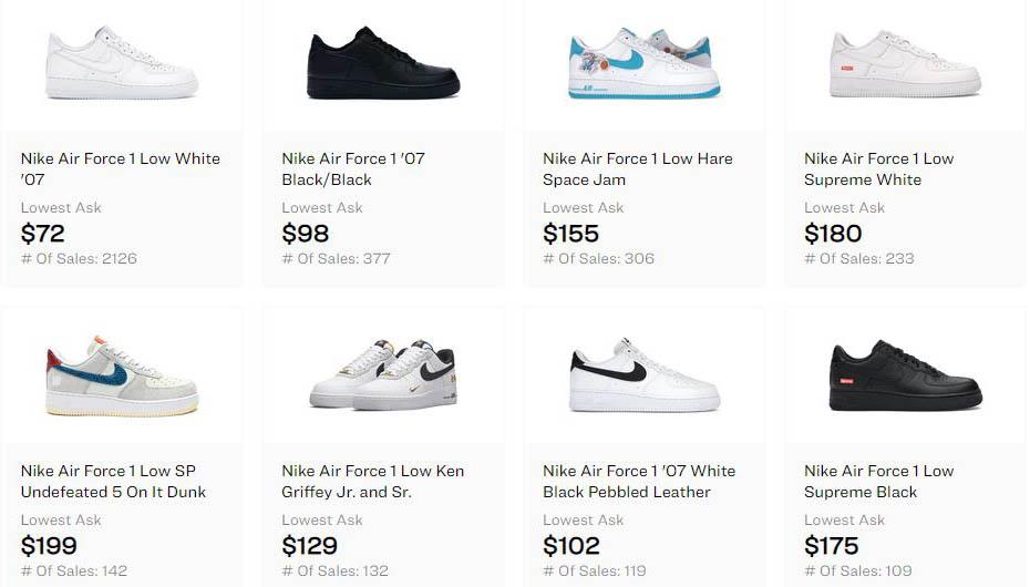 Nike Air Force 1 Shoes - Walking Shoes - AIO Bot