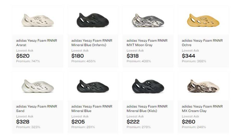 Yeezy Foam Runner - Slip On Shoes - AIo Bot