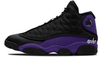 "Air_Jordan 13 ""Court Purple"""
