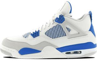 Air_Jordan 4 Golf Military Blue